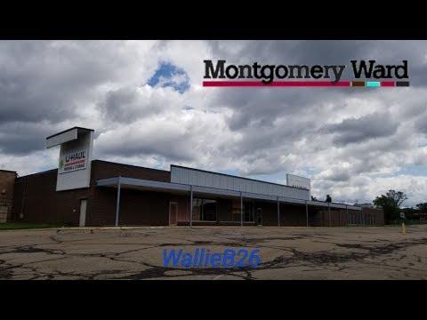 Abandoned Montgomery Ward Becoming U-Haul Lower Burrell, Pa