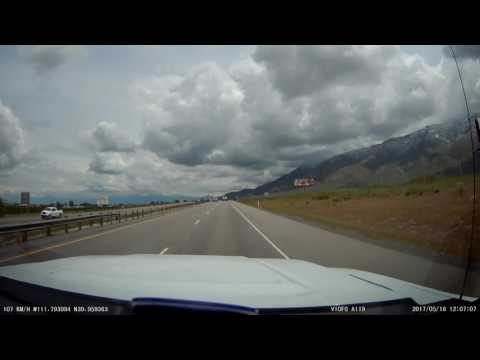 From Southern to Northern Utah on Interstate 15