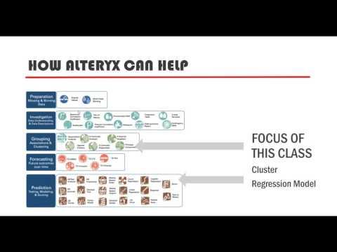 Predictive Analytics with Alteryx