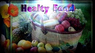 Fruit basket... healthy food