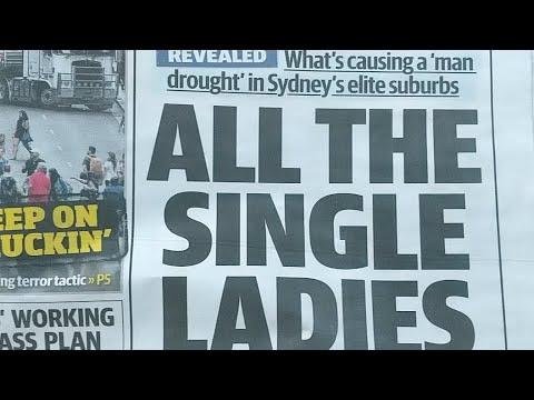 The Sydney Man Drought