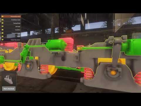 Train Mechanic Simulator 2017 - Diesel Job 11  