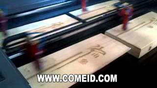 Comeid Four Heads Laser Cutting Machine For Wood Craft