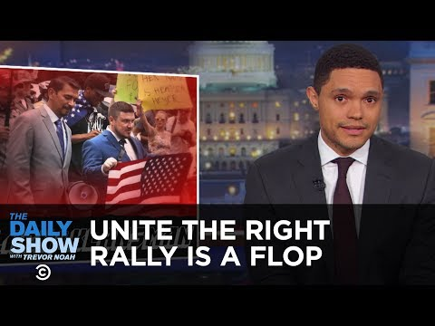 Washington D.C.'s Unite the Right Rally Is a Flop & Leo Deblin Comes to the Rescue | The Daily Show