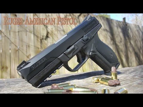 Ruger American Pistol...Ready For War?