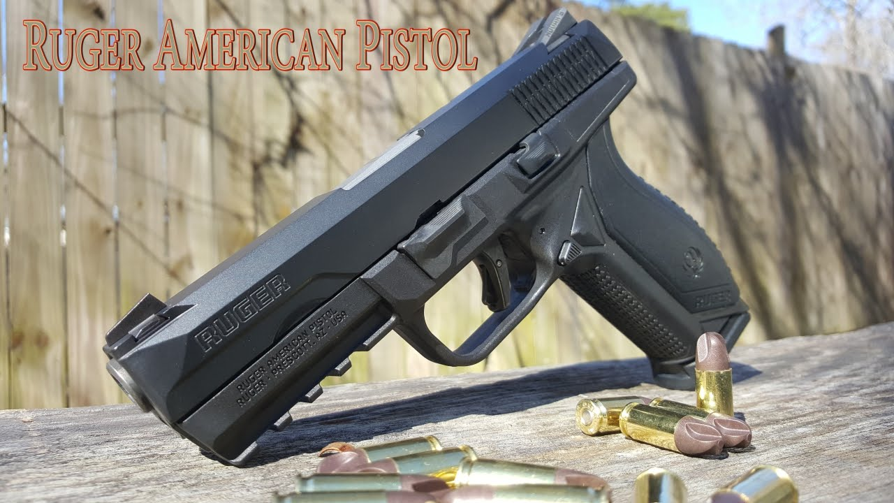 Ruger American Pistol   Ready For War?