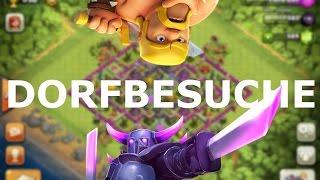 Clash of Clans - DORFBESUCHE!! | LP CoC | [Deutsch/German]HD