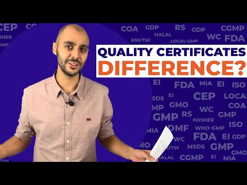 What is the difference between GMP, FDA, CEP, and more! #pharma