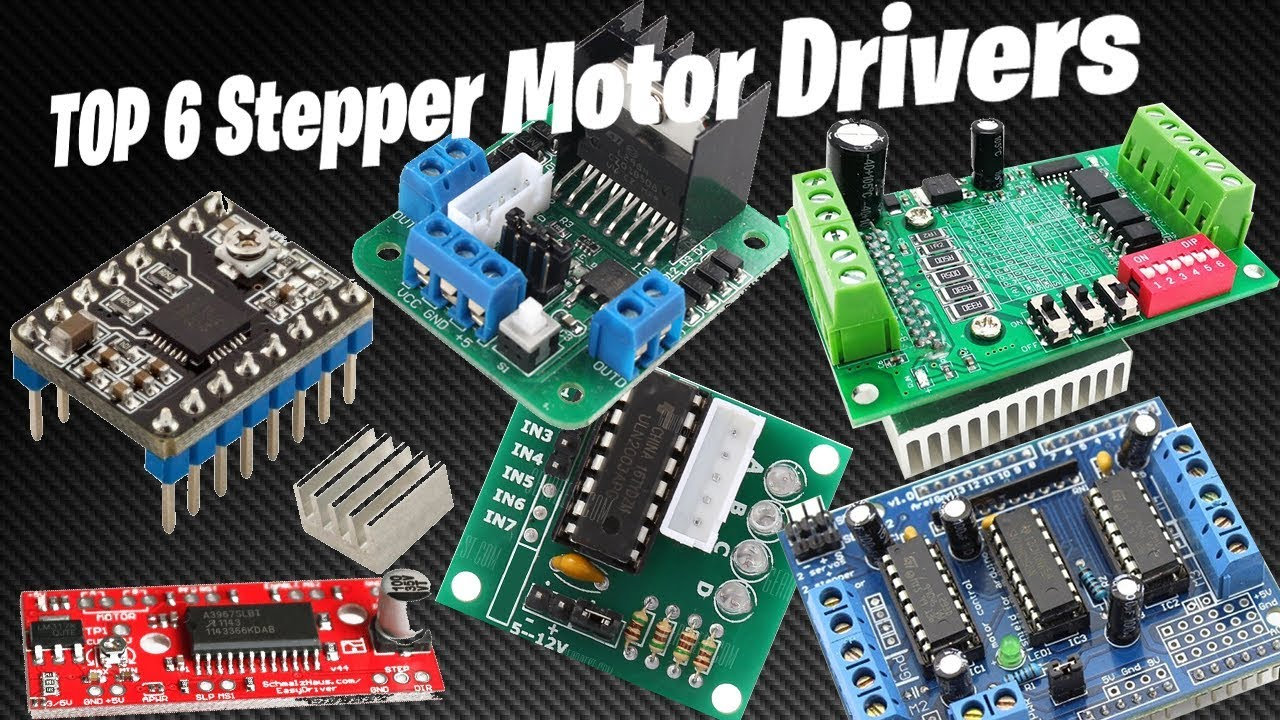 TOP 6 Stepper Motor Driver Controllers for Arduino Projects