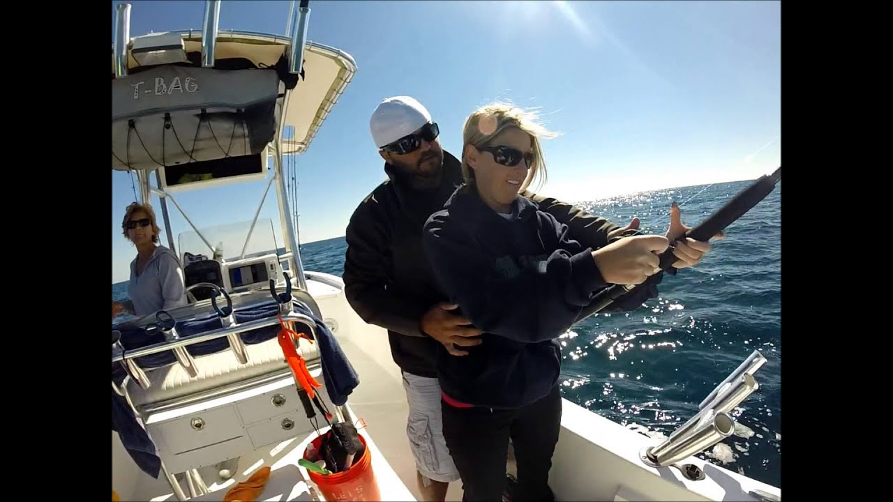 fly girl fishing charters king mackerel fall 2014