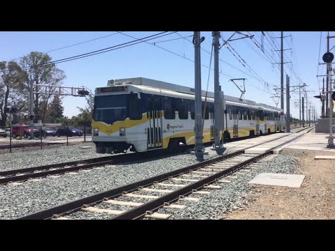Sacramento Regional Transit Light Rail Trains June 28, 2016