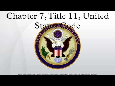 Chapter 7, Title 11, United States Code