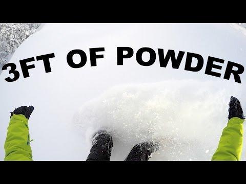 Amazing Powder Day At Powder Mountain