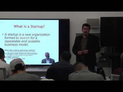 Business Model and Lean Canvas with Dr. Sean Wise