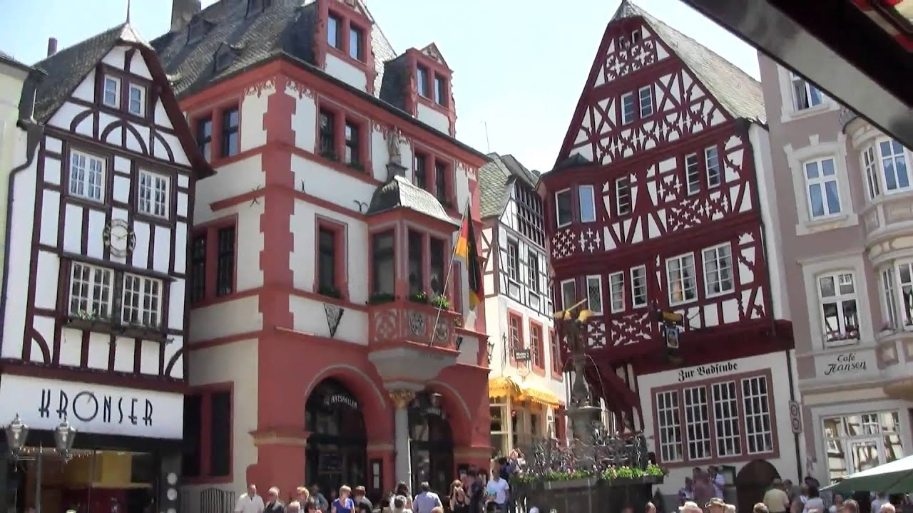 Bernkastel Kues, Moezel, Germany Mei 23, 2010 mp4   YouTube