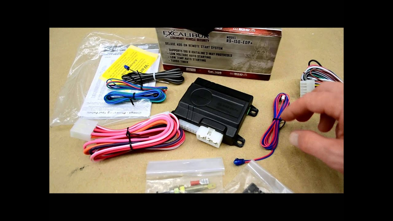 Excalibur Rs 150 Edp Remote Starter Review Youtube Wiring Harness