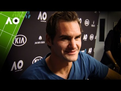 Roger Federer post final interview | Australian Open 2017