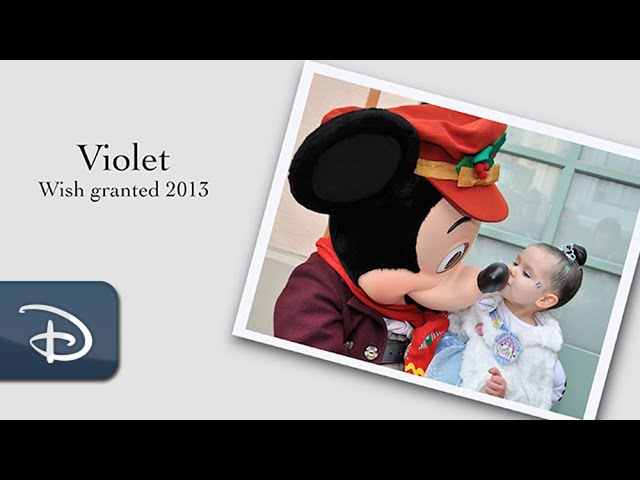 The Wish Effect: Violet Finds Her Voice After Meeting Mickey Mouse | Disneyland Resort