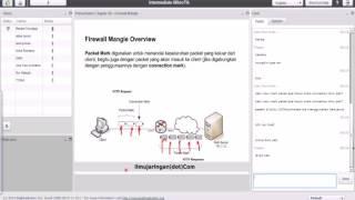 mikrotik training online 3 ilmujaringan  firewall mangle