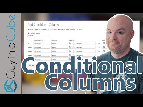 Copy Conditional Columns in Power Query or Power BI