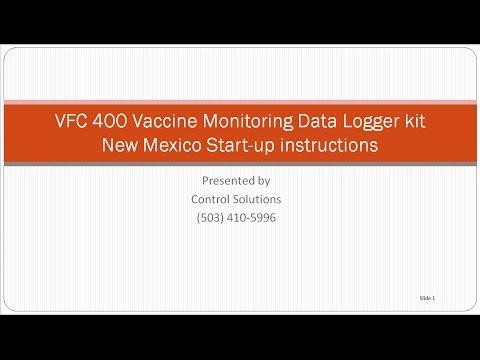 New Mexico VFC 400 instructions