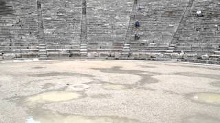 Acoustical Measurements in Ancient Epidaurus 01
