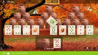 Star Club\Autumn Chill: TriPeaks - Expert - Earn a score of 60,000