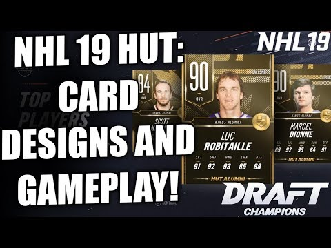 NHL 19 HUT NEWS! - LEGENDS AND CARD DESIGNS