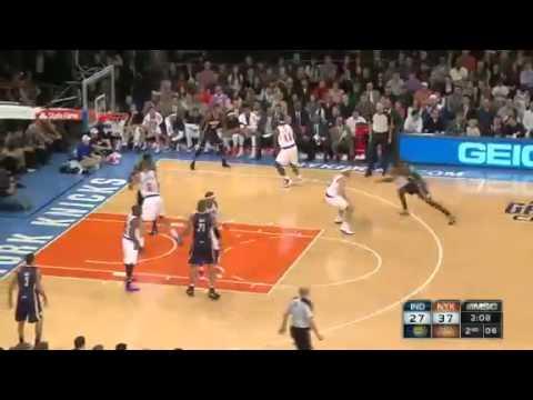 Indiana Pacers NY Knicks Highlights November 18 2012 - NBA Game Recap Carmelo Anthony