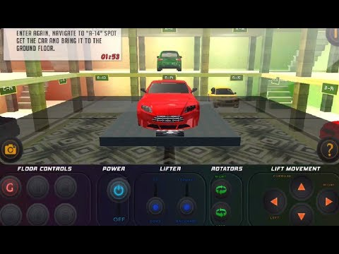 ► Roadway Multi Level Car Parking Game - Android Gameplay