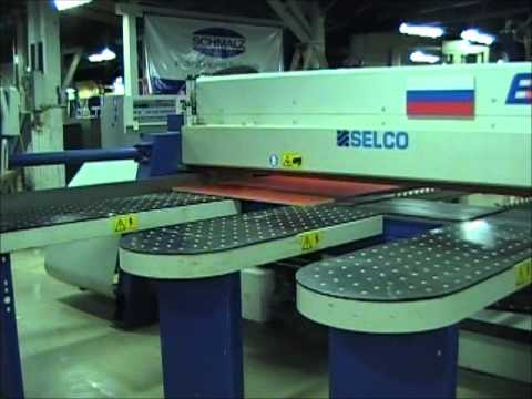 used selco eb 90 front load panel saw youtube rh youtube com Selco Panel Saw Website Multiscore Saw