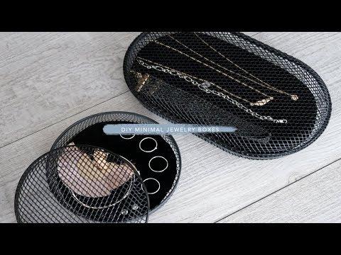 DIY Minimal Jewelry Box | Judi the Organizer