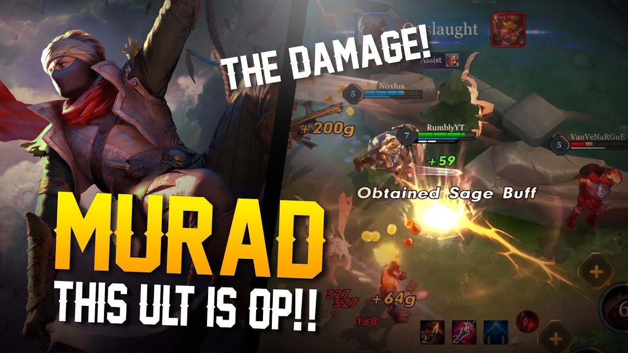 Arena Of Valor This Ult Is Op Murad Gameplay