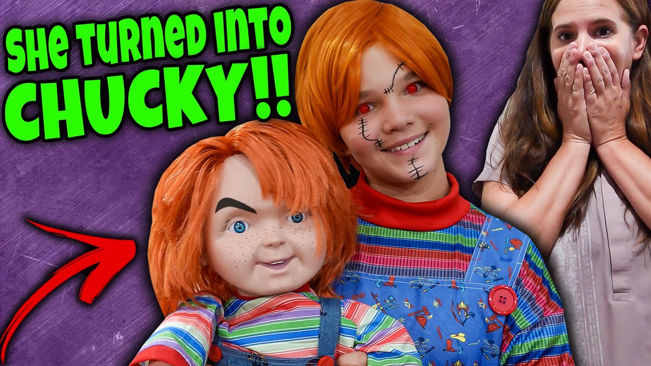 Download She Turned Into CHUCKY! Chucky In Charge