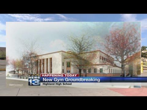 Highland High School breaks ground for new gymnasium