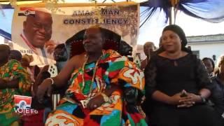 Nana Addo Dankwa Akufo-Addo: Campaigning in Amasaman
