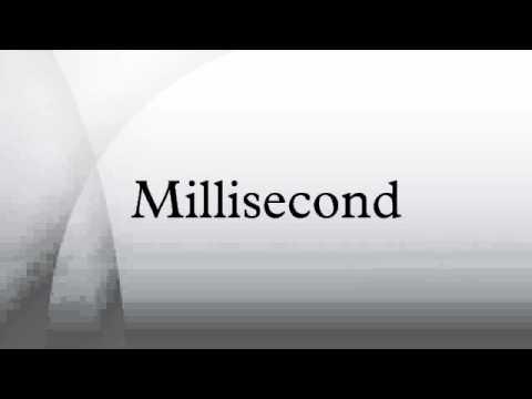 Millisecond
