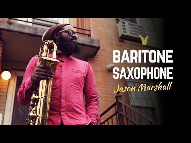 A Saxophone Lesson in Harlem - Jason Marshall on Baritone Sax