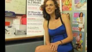Hilarie Burton - White Collar (Interview)