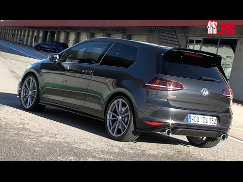 prueba del volkswagen golf gti clubsport en el circuito de. Black Bedroom Furniture Sets. Home Design Ideas