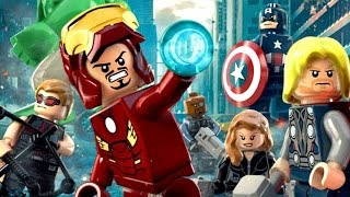 LEGO Marvel's Avengers (Complete Edition) All Cutscenes Game Movie 1080p HD