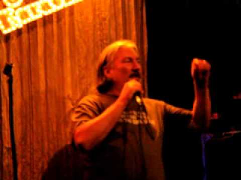 Alice Cooper Elected Karaoke Cover by Bill Cornell 4-30-2013 at Peppers Ft.