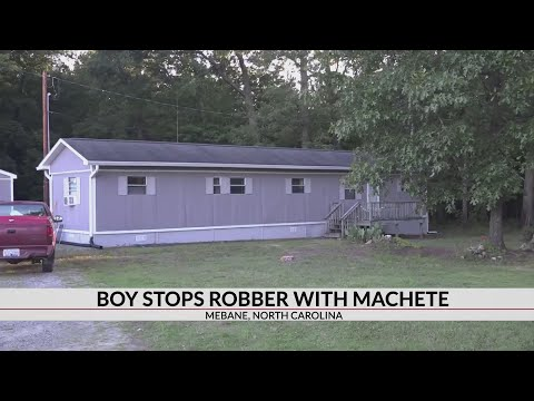 Mychal Maguire - 11-year-old fights off intruder with machete