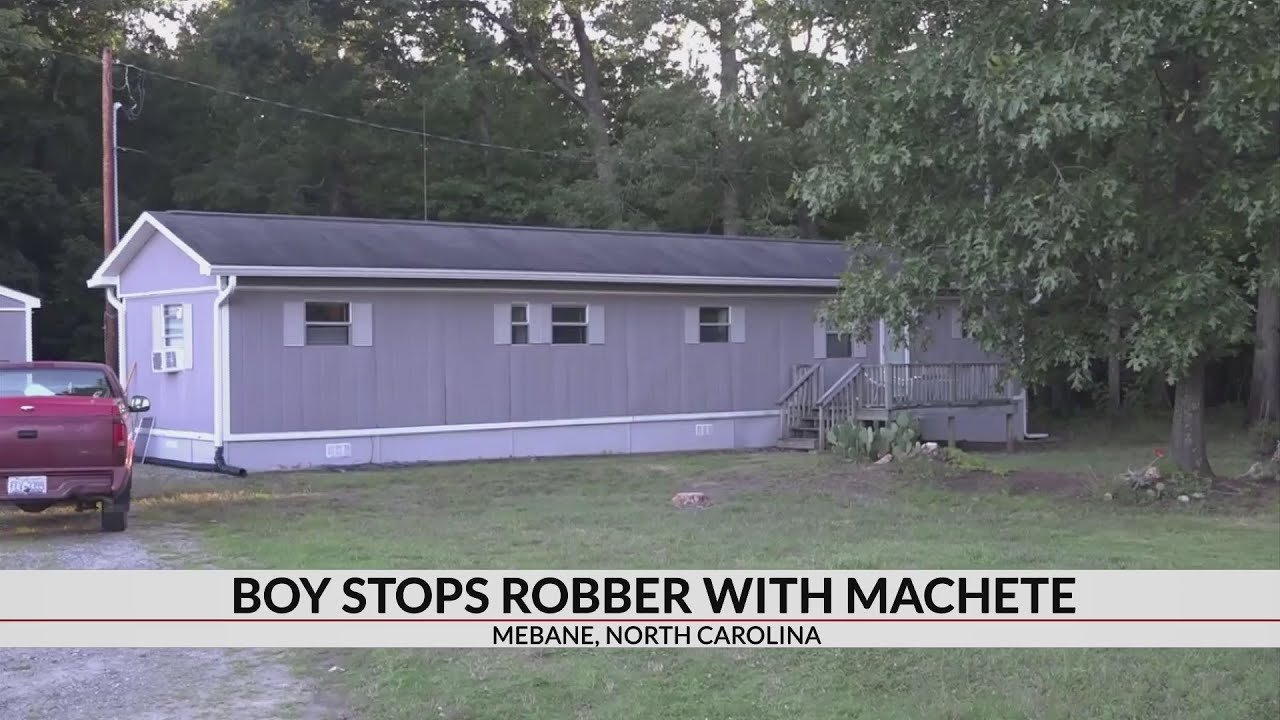 11-year-old fights off intruder with machete in NC home invasion