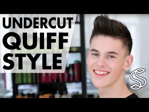 Undercut Quiff Hairstyle ★ Professional hairstyling tips for men ★ By Slikhaar TV