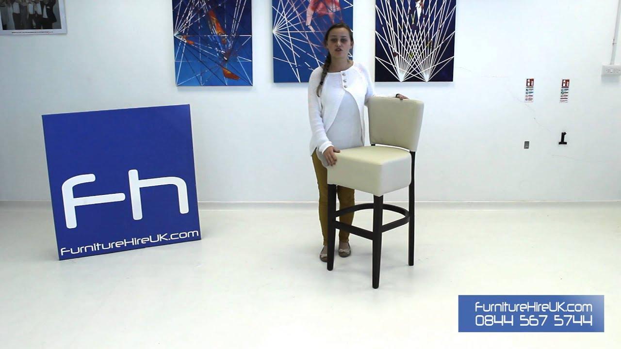 Fine Dining Stool Demo - Furniture Hire UK