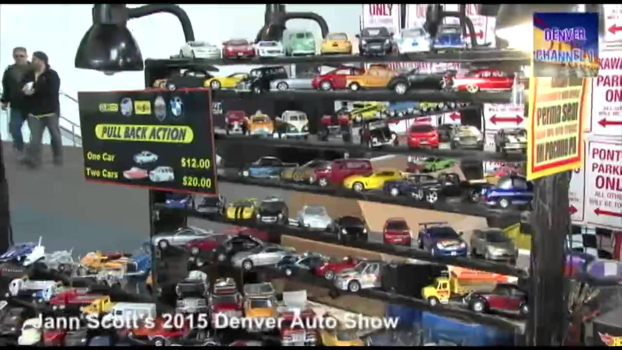 Diecast Cars and Vintage Signs at the 2015 Denver Auto Show - YouTube