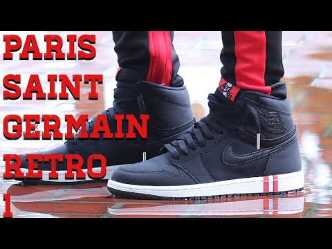 Paris Saint-Germain PSG x Air Jordan 1 High OG review - YouTube ab6c10bc6