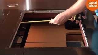 Hoe bepaal ik de inbouwmaten en aansluiting van een kookplaat?