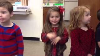 3 year old preschool thanksgiving song